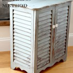 Hamper Distressed finish cece caldwells wet distress method redouxinteriors side