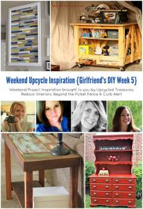 Weekend DIY Inspiration, Girlfriend's DIY week 5!