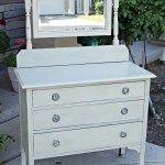 Mixed paint friendship dresser redouxinteriors