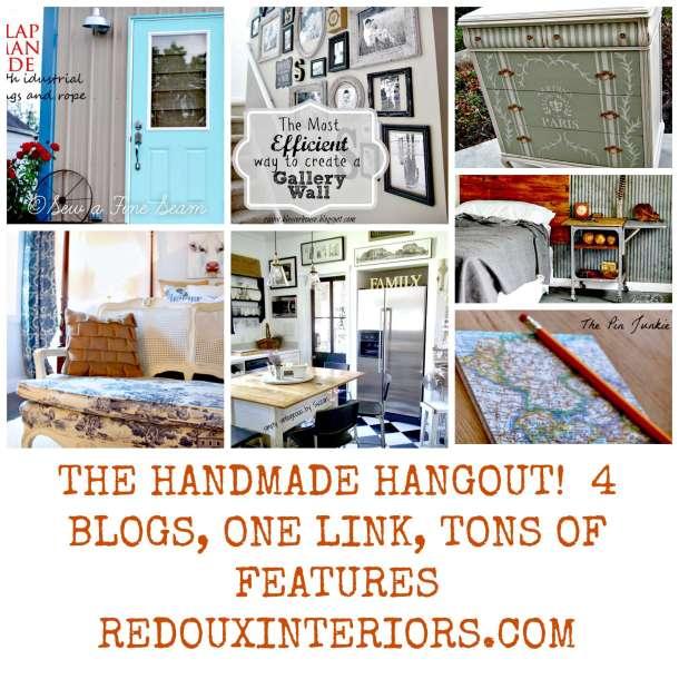 Handmade hangout week 4 redouxinteriors