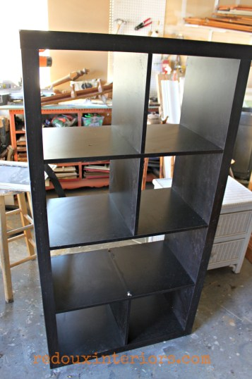 Contemporary bookshelf dumpster found redouxinteriors