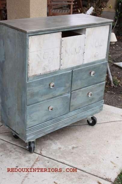 Street Dresser Turned Industrial Chic redouxinteriors