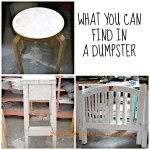 What you can find in a dumpster redouxinteriors