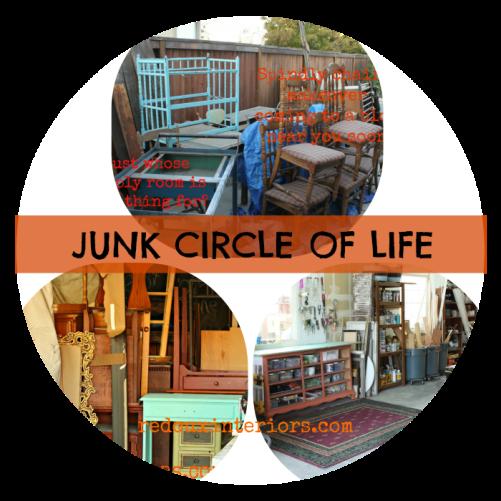 JUNK CIRCLE OF LIFE REDOUXINTERIORS