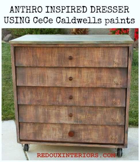 Anthro inspired dresser cece caldwells paint redouxinteriors