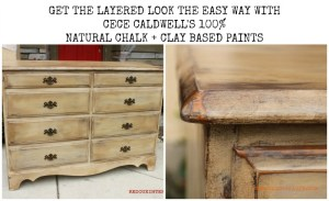 Layered look Dresser