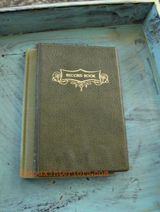 dumpster dive old blank journal trashy tuesday redouxinteriors