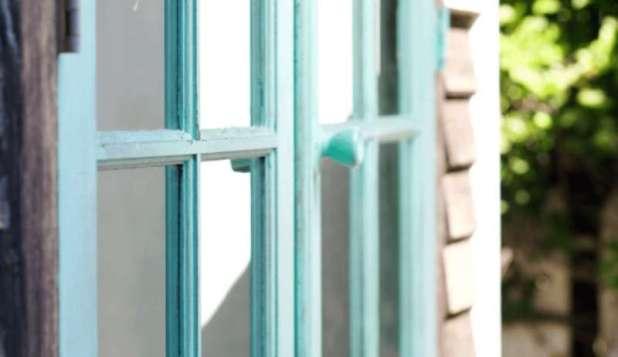 glitterfarm art shed doors up close cece santa fe turquoise redouxinteriors