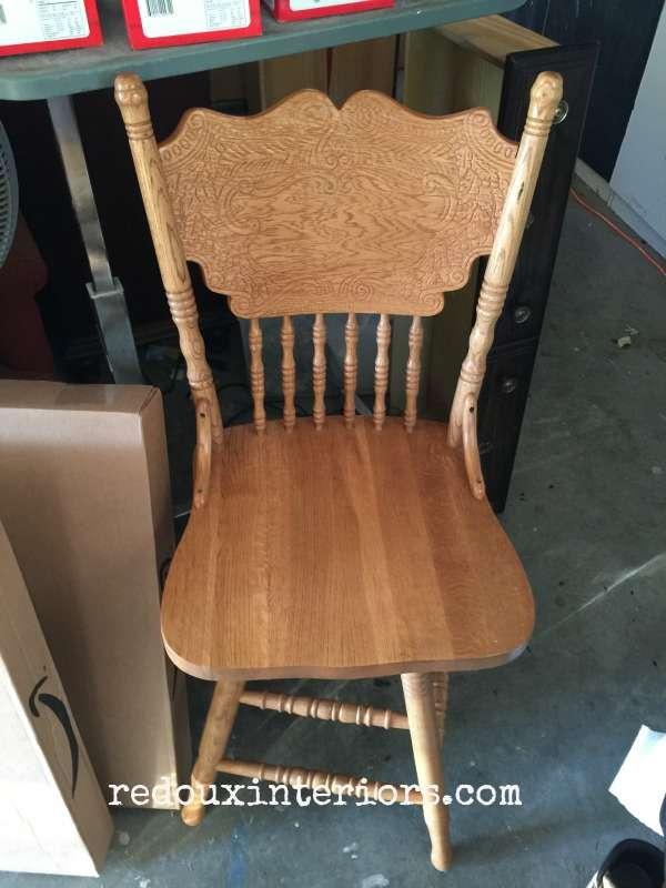 Free Oak Chair redouxinteriors