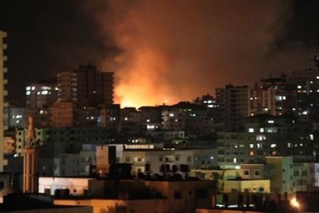 Gaza under Israeli fire