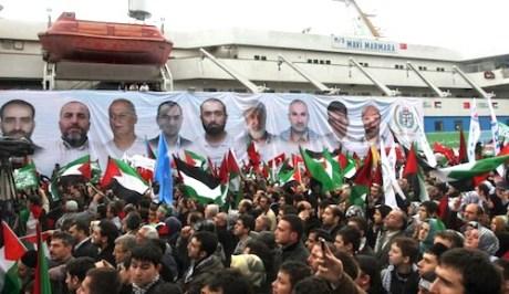 In memory of Mavi Marmara victims