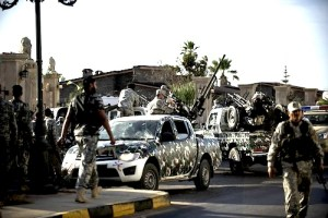 LIBYA-POLITICS-UNREST-MILITIAS