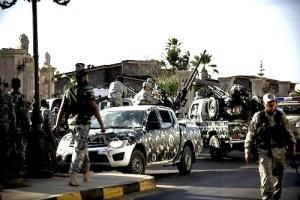 LIBYA-POLITICS-UNREST-MILITIAS