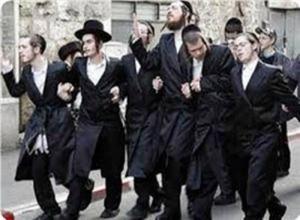 Jewish colonists in Palestine