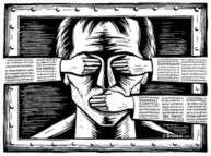 Israel critics silenced