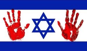 Israel - bloody hands