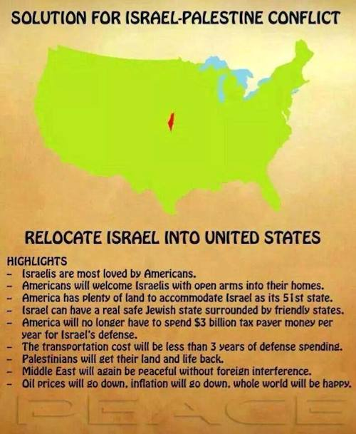 Move Israel to USA