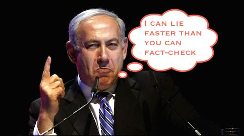 Binyamin Netanyahu the liar