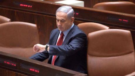 Binyamin Netanyahu isolated