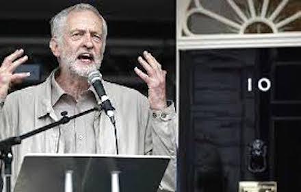 Jeremy Corbyn - Downing Street