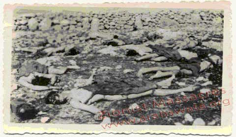 Zionist massacre of Arabs 1948