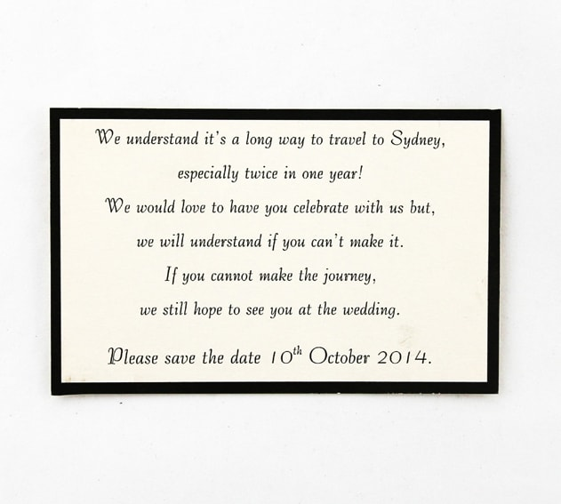 Cream and Black Save the Date Card Red Rose Invitations