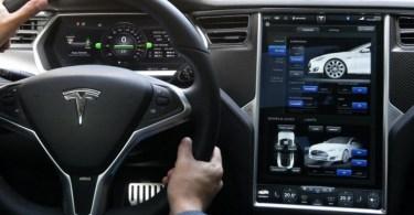 Tesla Model S Sedan Interior Design