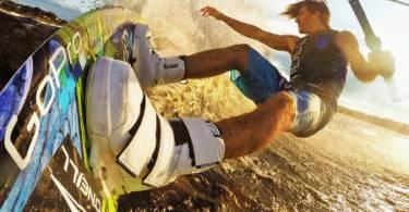 Go Pro Surfing shot