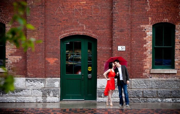 Engagement-Photos-Distillery-District-Brookfield-Place-Toronto-Umbrella-1