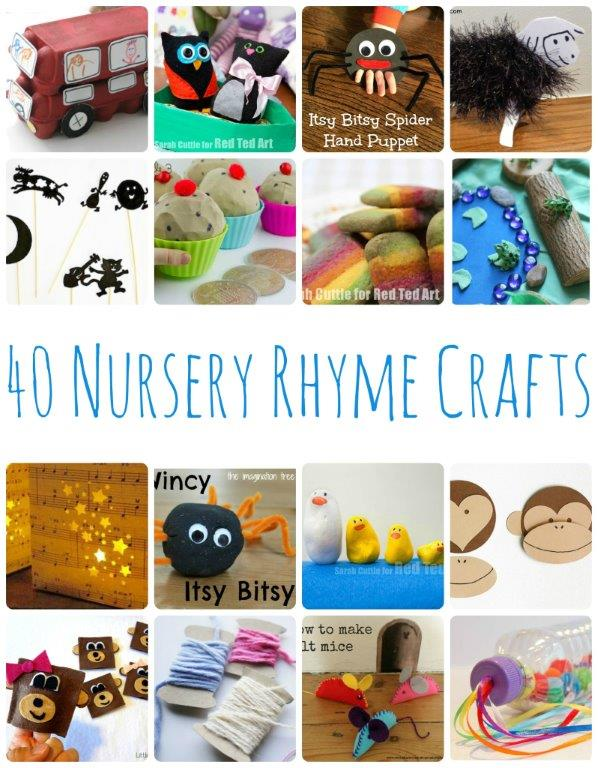 Nursery Rhyme Activities and Crafts - Red Ted Art
