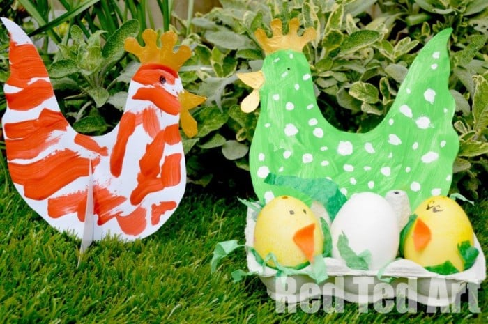 Easter Craft for Preschoolers - includes template