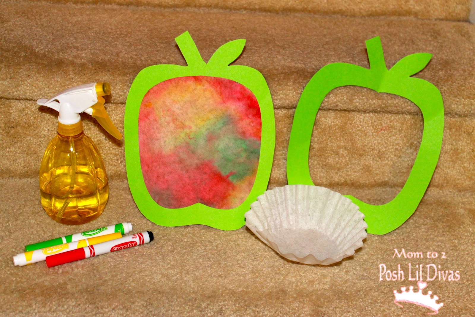 27 Easy Apple Craft Ideas Red Ted Art39s Blog