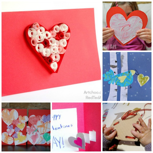 25+ Valentines Cards for Kids - Red Ted Art\u0027s Blog