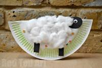 Rocking Paper Plate Sheep - Red Ted Art's Blog