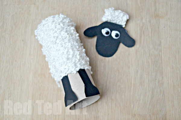 Tp Roll Shaun The Sheep Craft Red Ted Art39s Blog