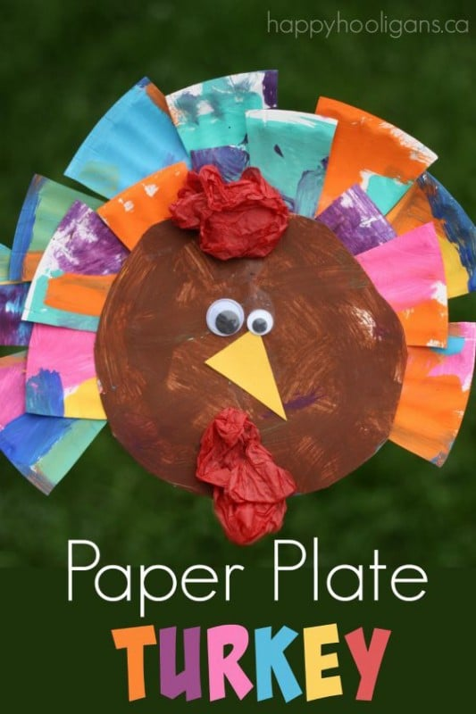 20 Turkey Crafts For Thanksgiving Red Ted Art39s Blog