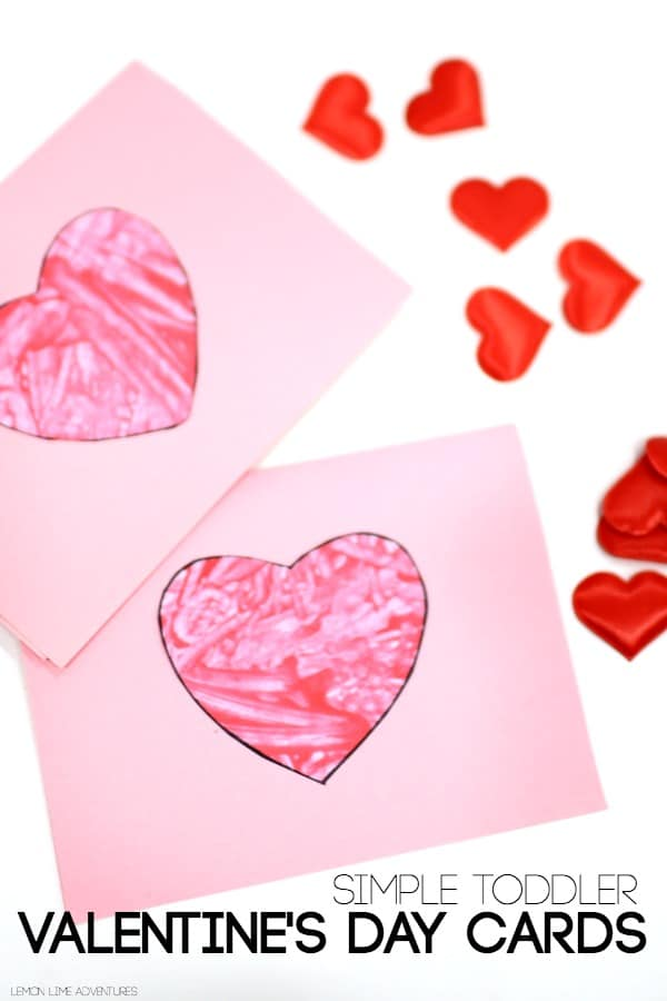 Toddler Valentines Day Cards - Red Ted Art\u0027s Blog
