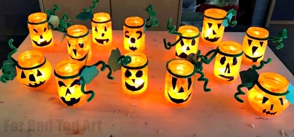 Easy Halloween Lanterns Red Ted Art39s Blog