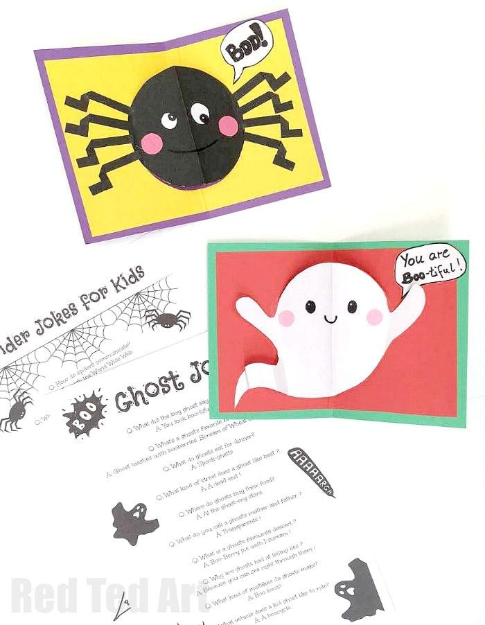 DIY Halloween Pop Up Cards for Kids - Red Ted Art\u0027s Blog