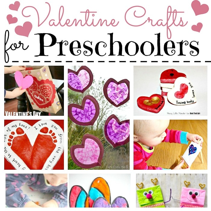 Valentine Crafts for Preschoolers - Red Ted Art\u0027s Blog