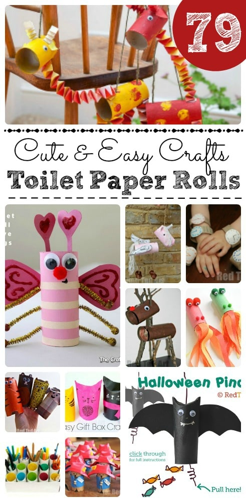 79 Cool Toilet Paper Roll Crafts You NEED TO SEE! - Red Ted Art\u0027s Blog