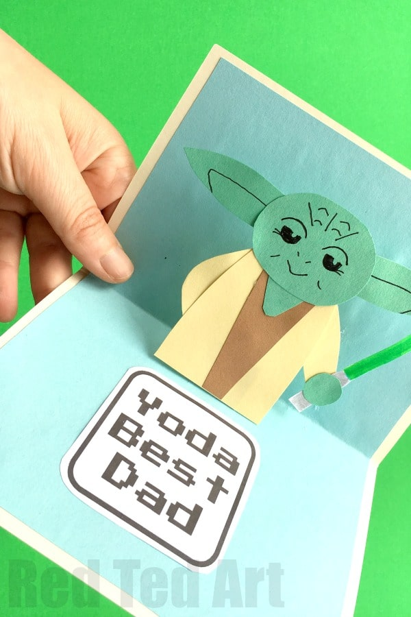 Pop Up Father\u0027s Day Card - Red Ted Art\u0027s Blog - father day cards