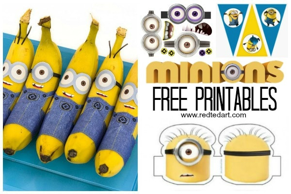 Dltks Letter A Crafts For Kids 37 Minion Paper Crafts And Despicable Me Printables Red