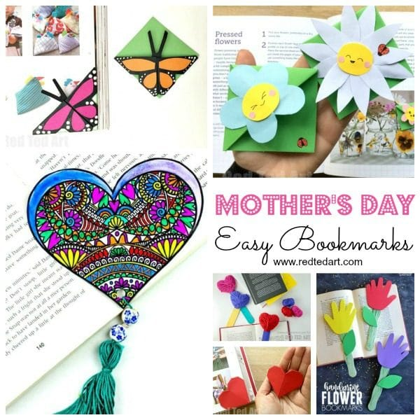 Easy Mother\u0027s Day Crafts for Kids to Make - Red Ted Art