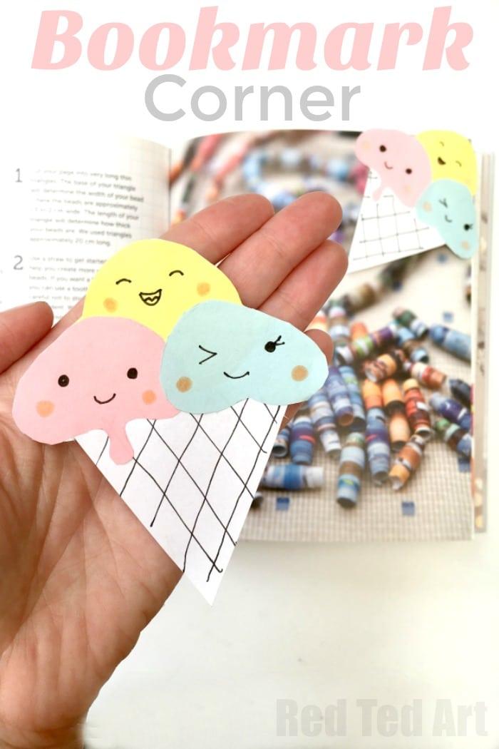 Kawaii Printable Bookmarks microhoo