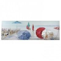Umbrella Beach Canvas Wall Art