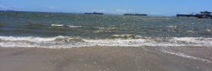 Belmont Shore Beach in Long Beach California 2014