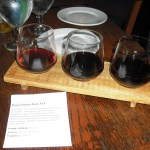 A red wine flight