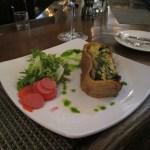 The vegetable tart