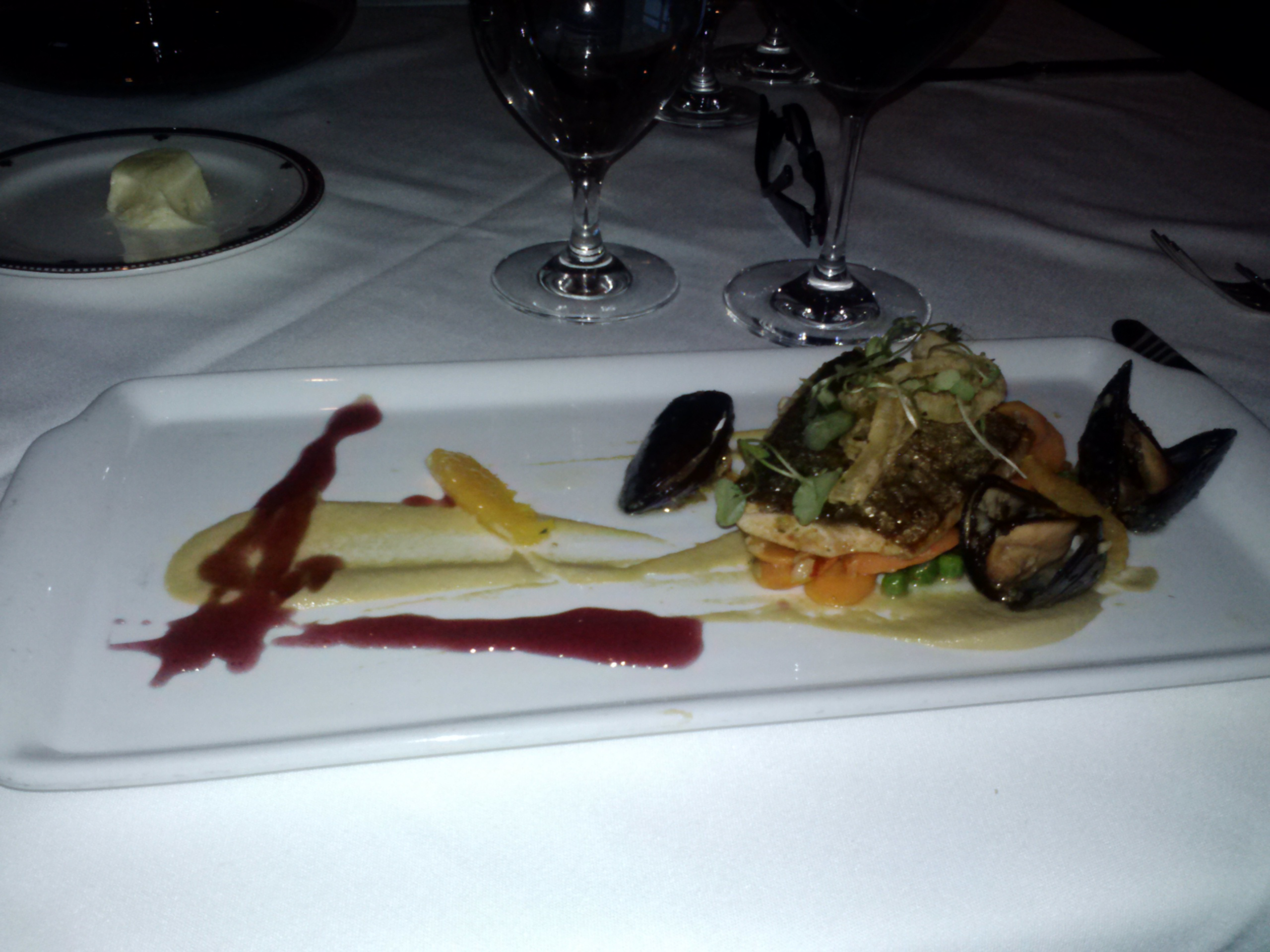 Trout And Mussels